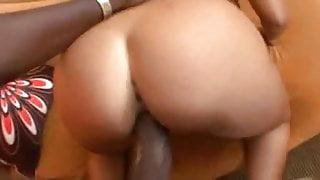Pornstar Britney Stevens vs Mandingo...Kyd!!!