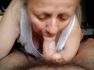 Grandma sucking cock - Grandma sucking cock