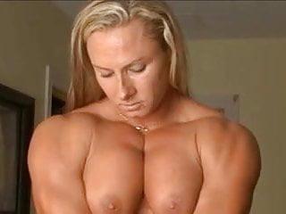 Blonde nude picture woman - Milinda flex nude