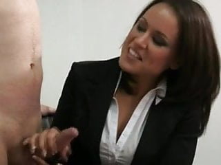 Officer dick staniland - Hot office femdoms tugging on dick