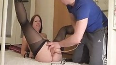 huge dildo orgasm