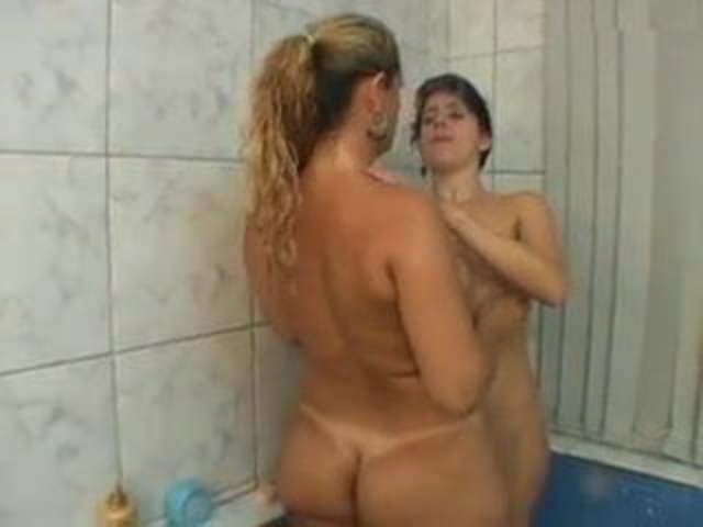Brazilian Lesbian Kiss Trib