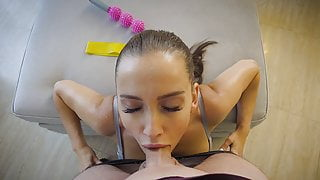 POV post workout rough fuck with Luxury Girl! EXCLUSIVE