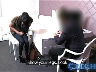 Teensw milking cocks videos Czech fashion model milks cock dry in office