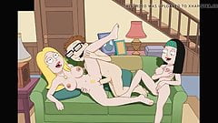 Francine Smith Fucking Steve while Hayley Watches