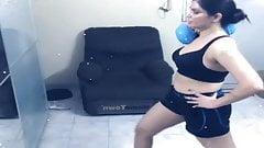 Aabha Paul Indian Model Instagram Video