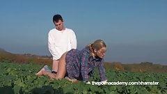 Farmers corn field sex