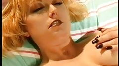 Busty milf play with her pussy