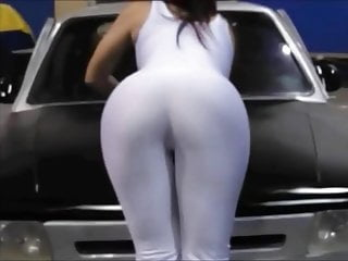 Whie wives cock Promodora hot ass whie spandex