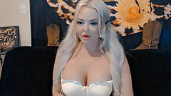 Real busty Barbie Van Dammm who is hot and ready to play