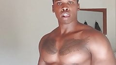 muscled bbc shows off