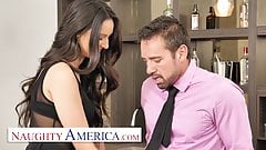 Naughty America - Eliza Ibarra fucks her married boss