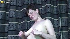 Hot British mature mom needs a good fuck