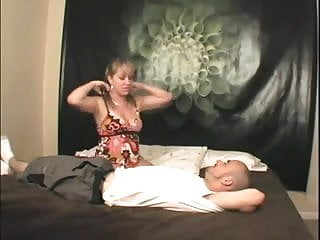 Farting femdom - Hot big booty blonde facesitting with farts
