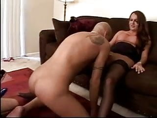 Shemale sex pmgs Threesome with shemale