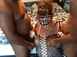 Cheating whores caught sucking cock - Cheating whore sucking black cocks