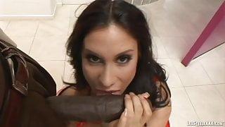Latina Sheila Marie Enjoys Interracial With Lexington Steele