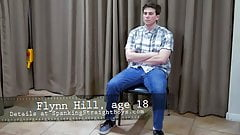 18! Flynn's First Ever Spanking