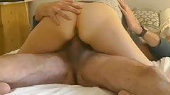 Amateur wife wakes up horny wanting sex