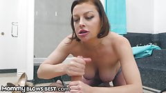 MommyBlowsBest - First Blowjob From Stepmom