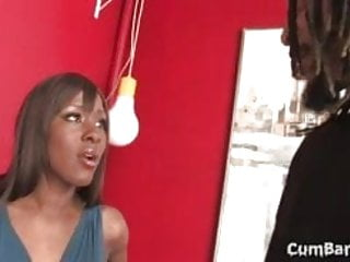 Black gang bang cum - Black babe ms platinum cheating her bf with many whites