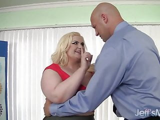 Fat dick pics Platinum blonde bbw klaudia kelly takes a fat dick