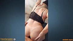 Mobile video of anal sex in the street.