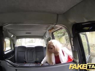 Fake celebritie anal - Fake taxi skinny blonde with small ass gets anal sex and fac
