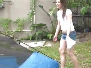 Fucking my baby daughter Fucking my little baby in the tent