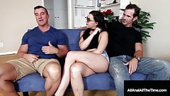 Nerdy Chick Whitney Wright Ass Fucked With Cuckold BF There!