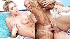 Small tittied girl Alysha Rylee takes cock
