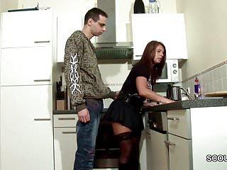Nifty virgin boys German young boy seduce big tit step-mom to lost virgin