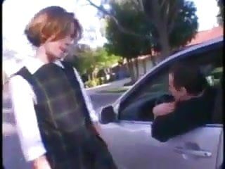Accepted with pleasure Nmln schoolgirl accepts a lift to get fucked