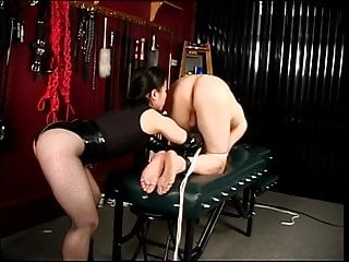 Asian bound nylon panties Slave stud gets spanked and dick bound