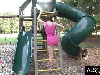 Lez teens get grounded video Sadie grey gets off on the play ground