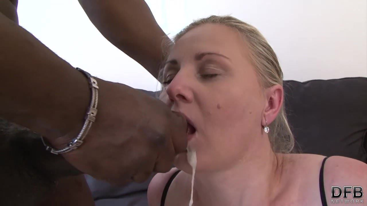 Cock Sucking Wife Swallows Cum