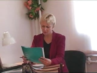 Social domestic and pleasure insurance Young insurance agent fuck old woman-client
