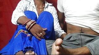 Sexy Desi sali Sucking dick and fucked hard clear hindi voic