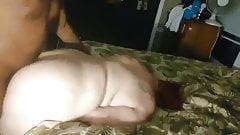 Big booty granny Julie doggy