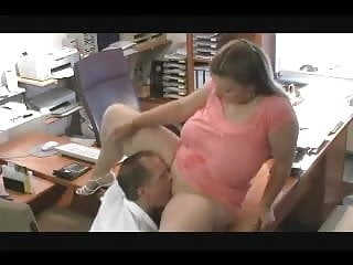 Officer fucks - Hot fuck 46 bbw with big natural boobs in the office