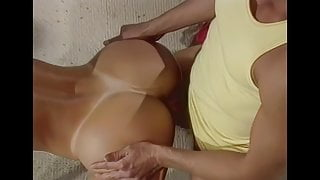 Remastered, Phenomenal Nina Hartley's ass fucked by Peter North