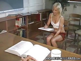 Professors anal punishment - Young babe anally fucked and facialized by hung professor