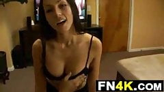 Step Sister Catches Step Brother Wanking