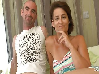 Busty mamas dp Busty amateur french wife dp and cum covered in a gangbang