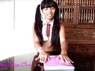 Fbb heather fucking girl with strapon Heather deep sexy school girl gets fucked and throatpie crea