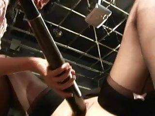 Sex in baseball dugout Baseball bat fuck