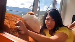 Thicc latina fucking in bear