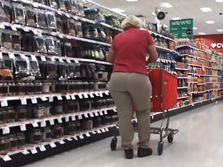 Plump grannies with dildos - Plump butt gilf target employee pt 3
