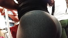 cockold Huge ass, tight leggings, candid, hot butt, hard booty sexy