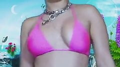 Charli xcx boobs flashing